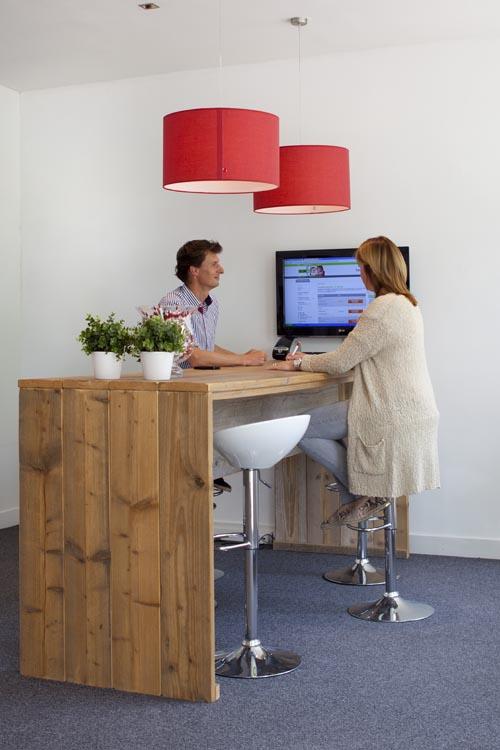 Ontvangsttafel BIJN.nl kantoor